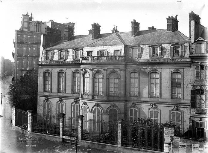 Hôtel de la Guiche , Durand, Eugène (photographe),