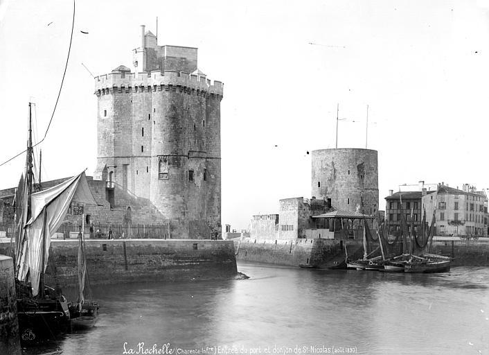 Tour Saint-Nicolas Entrée du port, Mieusement, Médéric (photographe),