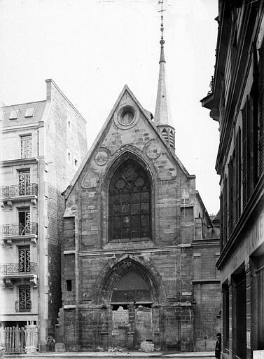 Collège de Beauvais (ancien) Chapelle, ensemble ouest, Durand, Eugène (photographe),