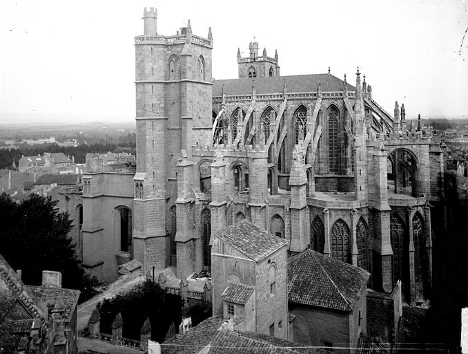 Cathédrale Saint-Just (ancienne) Ensemble sud, Enlart, Camille (historien),