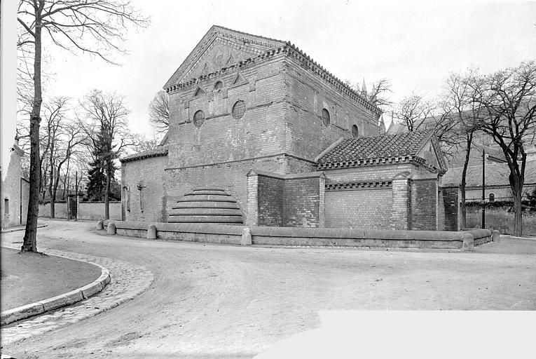 Baptistère Saint-Jean Ensemble sud-est, Gossin (photographe),