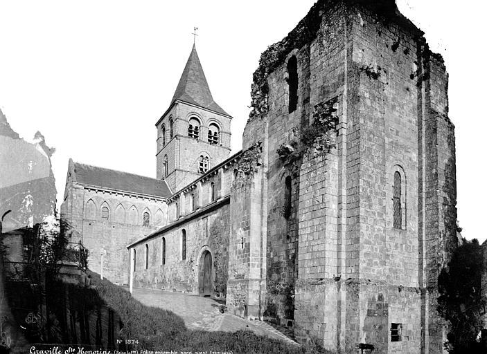 Abbaye de Graville-Sainte-Honorine (ancienne) Eglise : Ensemble nord-ouest, Mieusement, Médéric (photographe),