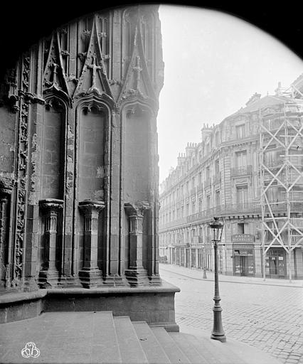 Cathédrale Saint-Pierre Façade ouest : angle nord, ,