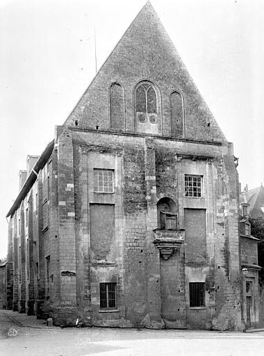 Cathédrale Saint-Gatien Archevêché : Grand pignon, Mieusement, Médéric (photographe),