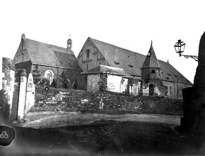 Hôtel-Dieu (ancien hôpital Saint-Jean) Ensemble nord-ouest : Chapelle, cloître et ancienne salle des malades, Berthault (photographe),