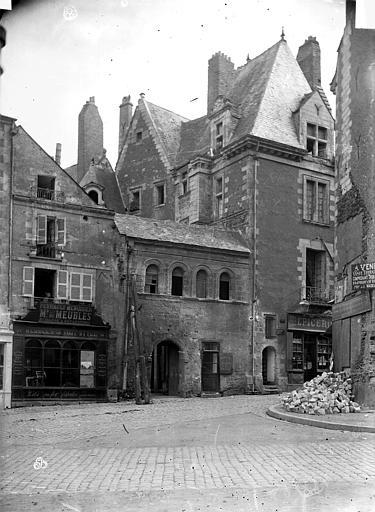 Hôtel de Thévalle (ancien) Façade sur rue, Carlier (photographe),