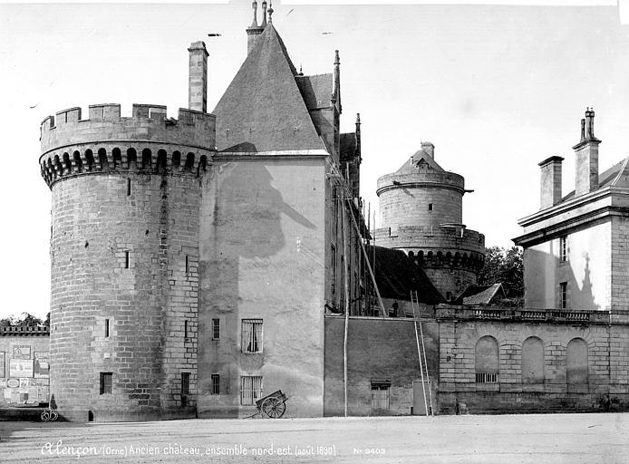 Château (ancien) Ensemble nord-est, Mieusement, Médéric (photographe),