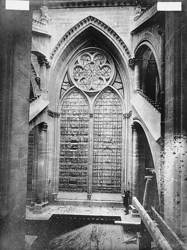 Cathédrale Notre-Dame Fenêtre de l'abside, Lajoie, Abel,