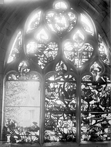 Eglise Saint-Nizier Vitraux, fenêtre C, Lancelot, Gustave,