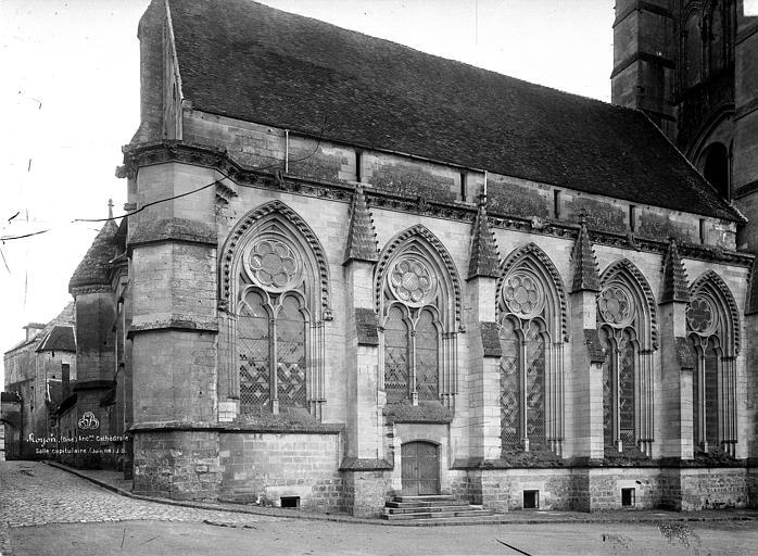 Cathédrale (ancienne) Salle capitulaire, Durand, Eugène (photographe),