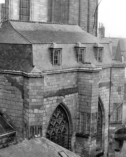 Cathédrale Saint-Maurice Façade nord : Fenêtres, ,