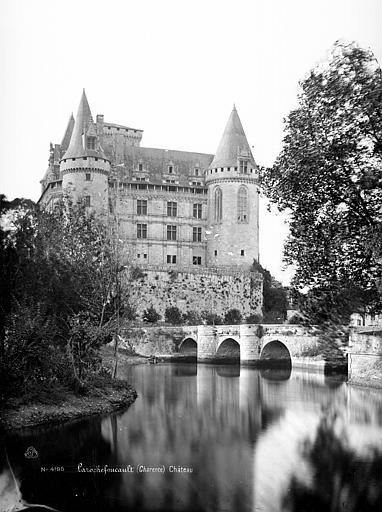Château Ensemble sud vu du parc, Mieusement, Médéric (photographe),