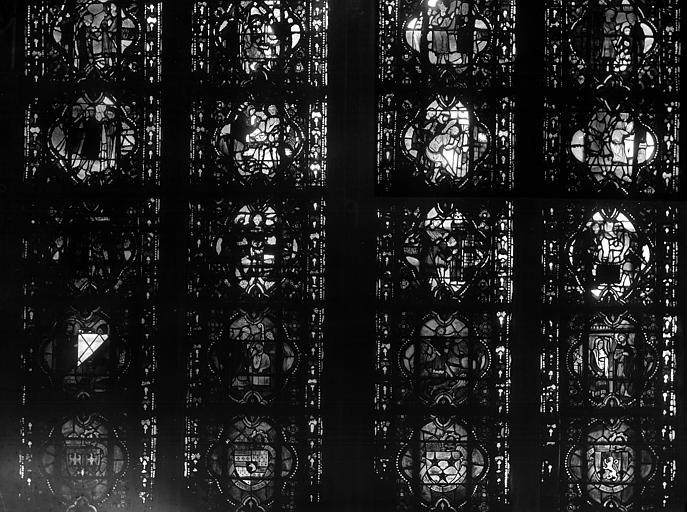 Cathédrale Notre-Dame Chapelles du choeur, vitrail A', Gaudin,