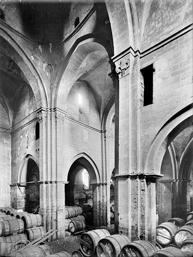 Eglise Saint-Philibert (ancienne) Vue intérieure du transept, vers le sud-ouest, Heuzé, Henri (photographe),