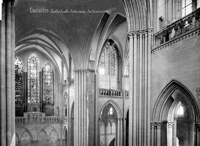 Cathédrale Notre-Dame Vue intérieure du transept : parties hautes, Mieusement, Médéric (photographe),