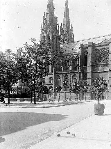 Cathédrale Notre-Dame Clocher, au sud, Chaine, Henri (architecte),