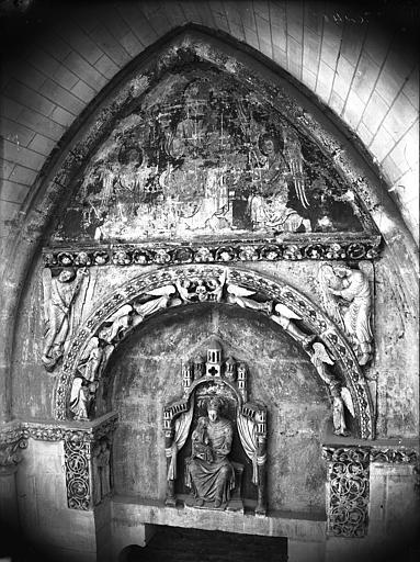 Cathédrale Notre-Dame Ancienne porte du cloître, Lajoie, Abel,