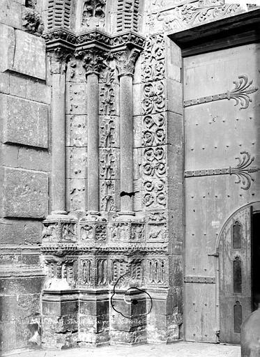 Cathédrale Notre-Dame Portail sud de la façade ouest : ébrasement gauche, Mieusement, Médéric (photographe),