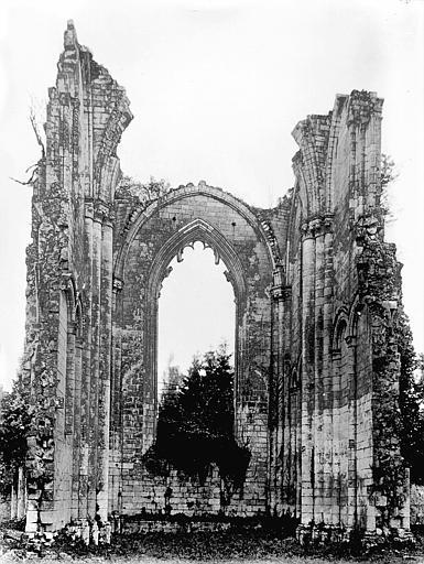 Abbaye Notre-Dame de la Couronne (ancienne) Choeur, Heuzé, Henri (photographe),