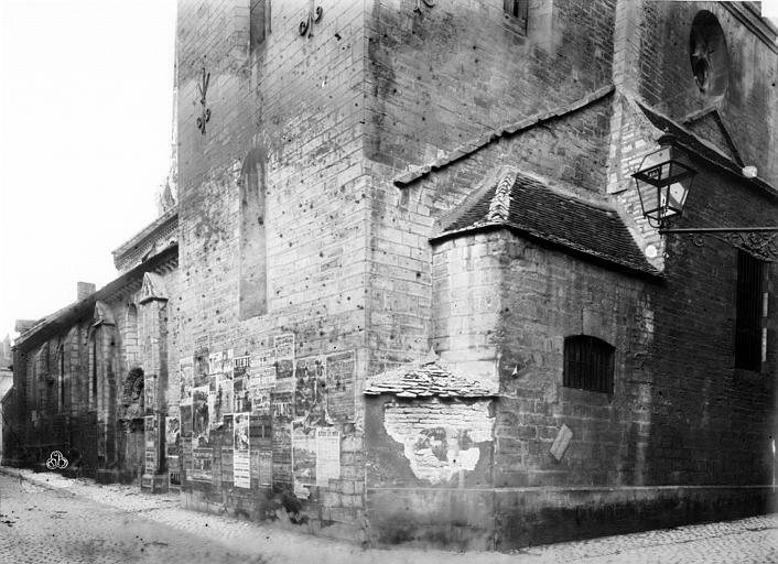 Eglise Saint-Philibert (ancienne) Vue sud-est, Durand, Eugène (photographe),