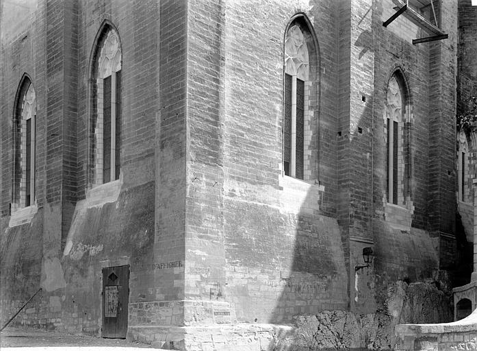 Palais des Papes Grande audience : Angle sud-ouest, Durand, Jean-Eugène (photographe),