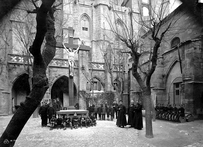 Cathédrale Saint-Just (ancienne) Façade sud, Mieusement, Médéric (photographe),