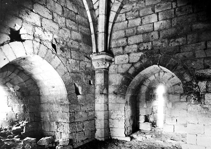 Château du Coudray-Salbart Tour du moulin, intérieur, Mieusement, Médéric (photographe),