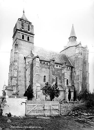 Eglise paroissiale Façade sud, Mieusement, Médéric (photographe),