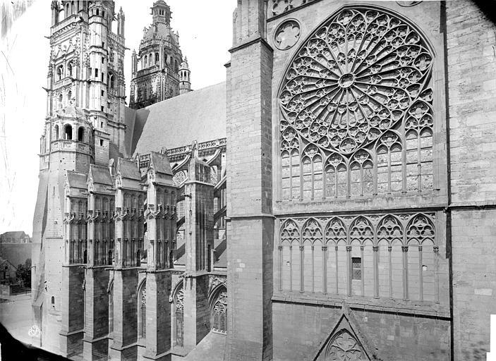 Cathédrale Saint-Gatien Façade sud : partie ouest et transept, Mieusement, Médéric (photographe),