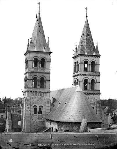 Eglise Notre-Dame Clocher, Durand, Eugène (photographe),