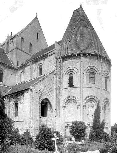 Eglise Saint-Nicolas (ancienne) Abside, côté sud-est, Durand, Jean-Eugène (photographe),