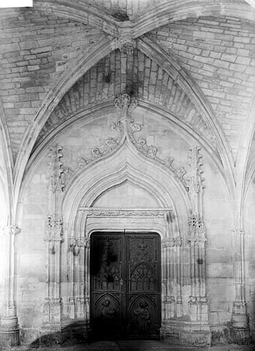 Chartreuse Saint-Sauveur (ancienne) Portail, Enlart, Camille (historien),