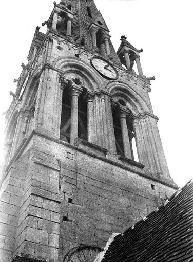 Eglise Clocher : partie médiane, Chaine, Henri (architecte),