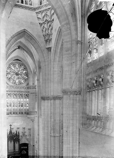 Cathédrale Notre-Dame Vue intérieure du transept nord, Mieusement, Médéric (photographe),