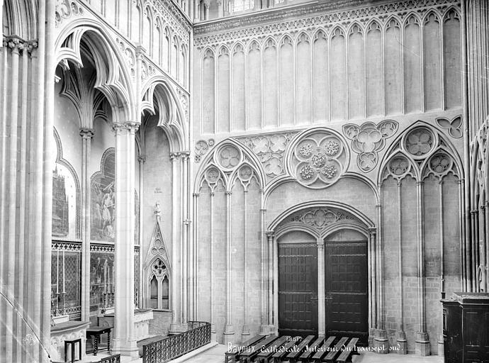 Cathédrale Notre-Dame Vue intérieure du transept sud, Mieusement, Médéric (photographe),