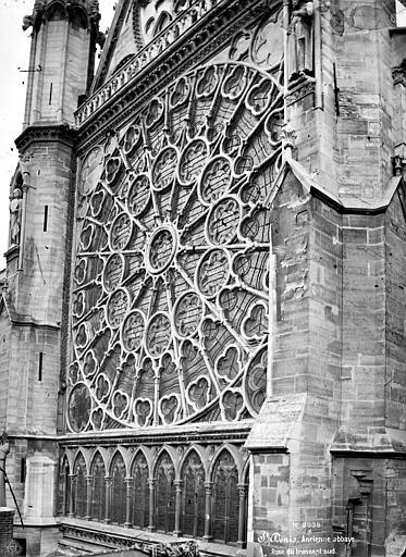 Basilique Saint-Denis Transept sud : Rose, Mieusement, Médéric (photographe),
