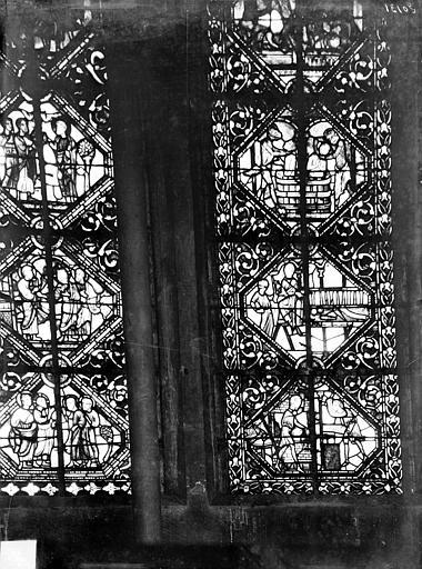 Eglise Notre-Dame Vitrail du transept nord, Gossin (photographe),