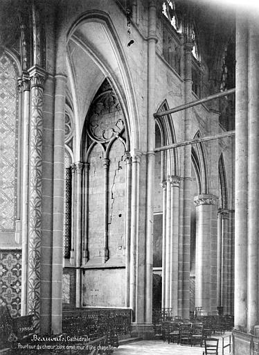 Cathédrale Saint-Pierre Vue intérieure du déambulatoire : chapelles rayonnantes, Mieusement, Médéric (photographe),