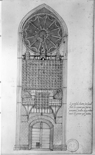 Cathédrale Notre-Dame Reproduction de dessins, Catala (photographe), 75 ; Paris ; Bibliothèque nationale de France
