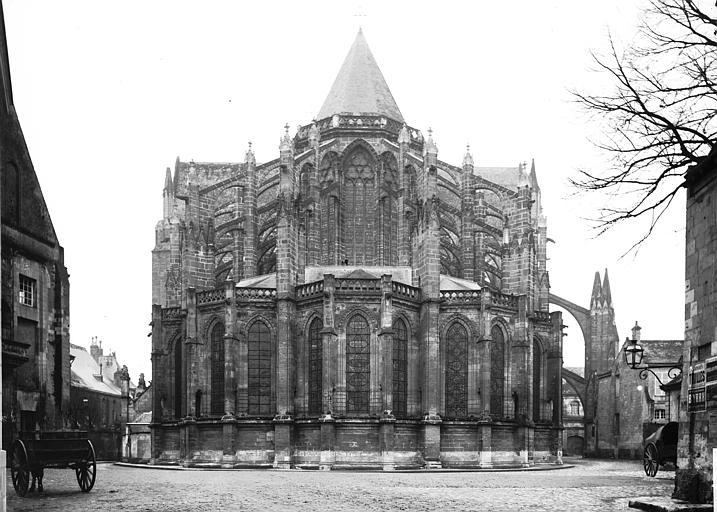 Cathédrale Saint-Gatien Abside, Enlart, Camille (historien),
