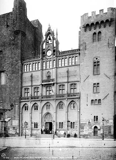 Archevêché (ancien) ; Hôtel de Ville Vue d'ensemble, Mieusement, Médéric (photographe),