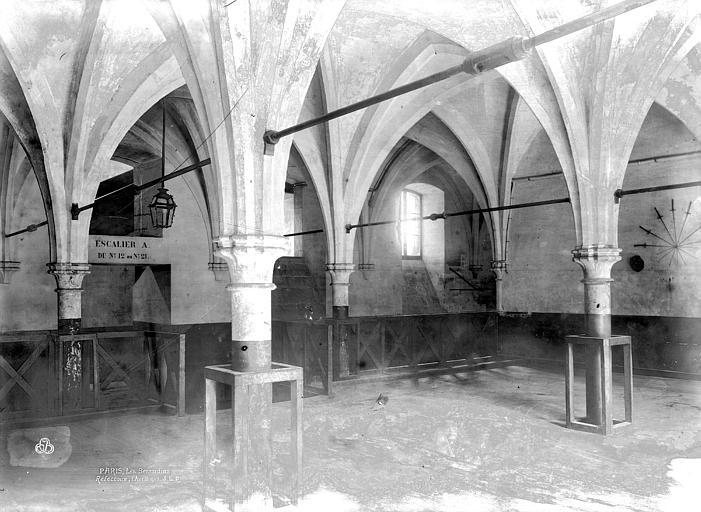 Couvent des Bernardins (ancien) Réfectoire, Durand, Eugène (photographe),