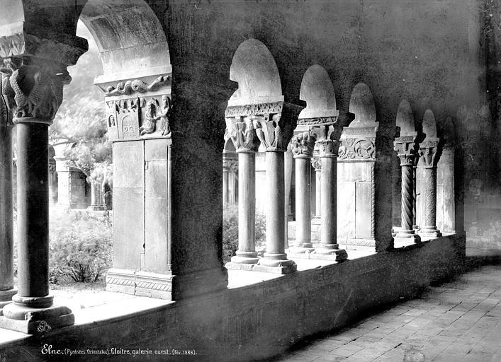 Eglise Cloître : Vue intérieure de la galerie ouest, Mieusement, Médéric (photographe),