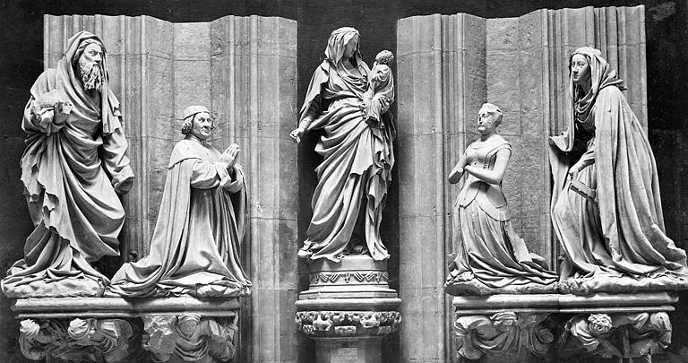 Chartreuse de Champmol (ancienne) , Mieusement, Médéric (photographe), 75 ; Paris 16 ; Palais de Chaillot (Trocadéro) ; Musée de sculpture comparée, Musée des Monuments français