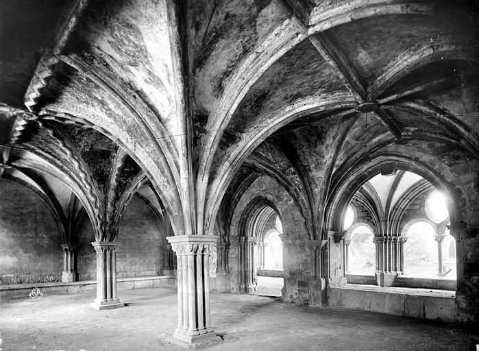Cathédrale Saint-Martin Salle capitulaire : vue intérieure, Mieusement, Médéric (photographe),