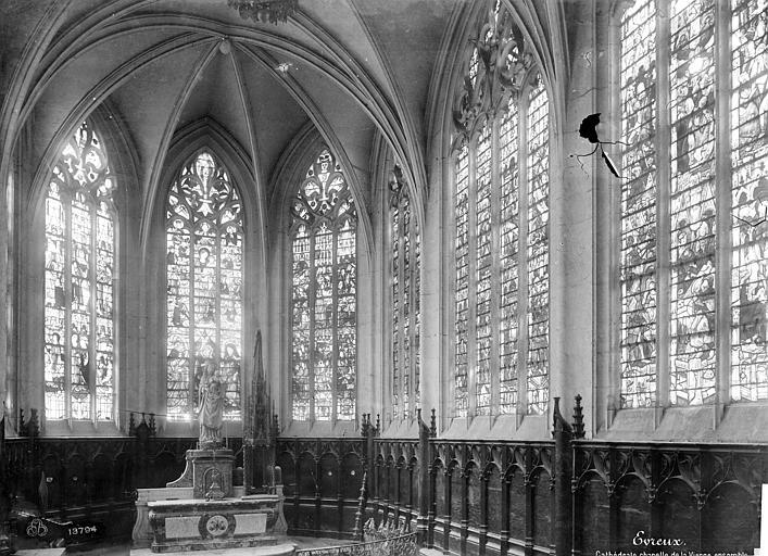 Cathédrale Notre-Dame Vitrail de la chapelle de la Vierge, Mieusement, Médéric (photographe),