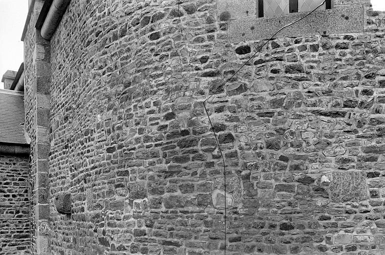 Tour Surienne Détail de l'appareil du mur, Durand, Jean-Eugène (photographe),