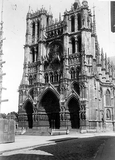 Cathédrale Ensemble ouest, Chaine, Henri (architecte),