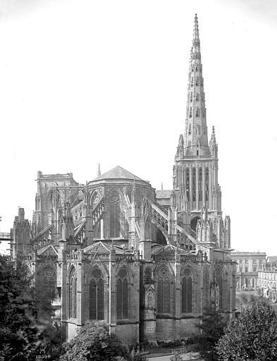 Cathédrale Saint-André Ensemble est, Mieusement, Médéric (photographe),