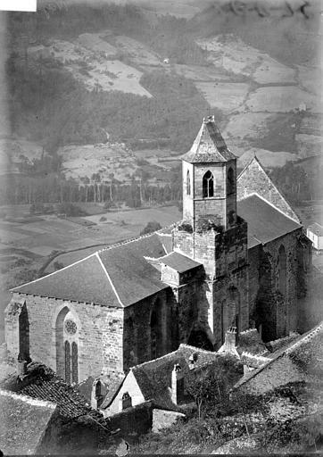 Eglise Saint-Jean Ensemble nord-est: vue plongeante, Enlart, Camille (historien),
